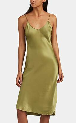 840f86a8c7a0 Nili Lotan Women's Silk Cami Dress - Sage