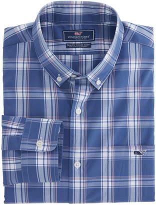 Vineyard Vines Ash Creek Plaid Slim Tucker Shirt