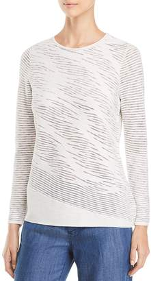 Nic+Zoe This Is Living Wave-Knit Top