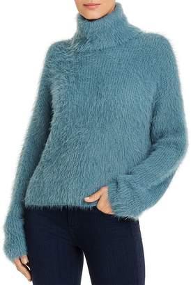 Vero Moda Fuzzy Turtleneck Sweater