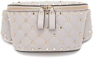 Valentino Rockstud Spike quilted-leather belt bag