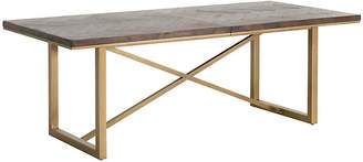 One Kings Lane Mosaic Extension Dining Table - Rustic Java