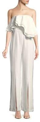 C/Meo CMEO COLLECTIVE Ruffle Strapless Jumpsuit