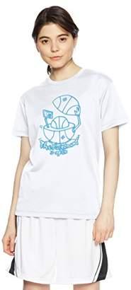 Converse (コンバース) - (コンバース) CONVERSE バスケットボールウェア ウィメンズ プリントTシャツ 18SS CB381301 [レディース] CB381301 1100 ホワイト M