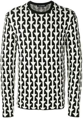 Neil Barrett patterned jumper