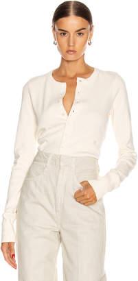 Helmut Lang Femme Cardigan in Pearl   FWRD