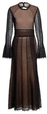 Alexander McQueen Sheer Mesh Gown