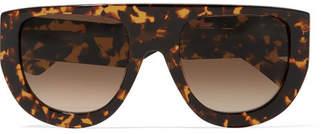 Ines Ii D-frame Tortoiseshell Acetate Sunglasses