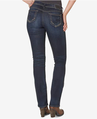Silver Jeans Co. Suki Mid Rise Curvy Slim Bootcut Jeans