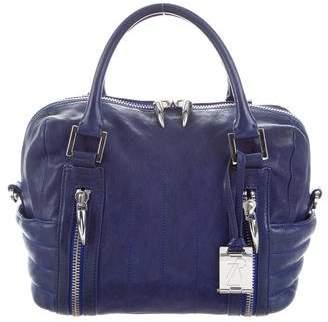 Rachel Zoe Leather Zip-Accented Bag