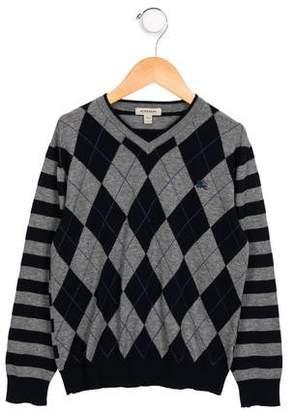 Burberry Boys' Wool & Cashmere Cardigan