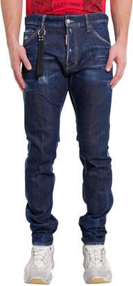 DSQUARED2 Blu Cadet Wash Cool Guy Jeans