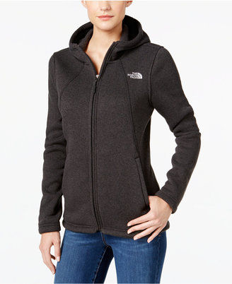 The North Face Crescent Sweater Fleece Hoodie $99 thestylecure.com