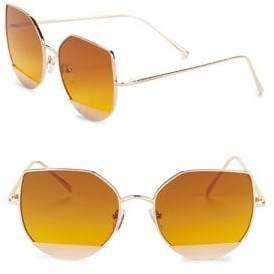 Steve Madden 58MM Butterfly Sunglasses