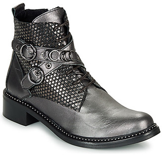 Regard ROA V2 METALCRIS PIRITA women's Mid Boots in Grey