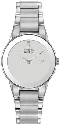 Citizen Women's Axiom Silver Dial Stainless Steel Watch, 32mm