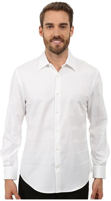 Perry Ellis Engineered Solid Stripe Pattern Shirt $79.50 thestylecure.com
