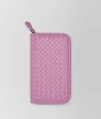 Bottega Veneta Twilight Intrecciato Nappa Zip-Around Wallet