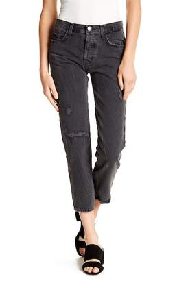 Current/Elliott Original Straight Cropped Denim Jeans