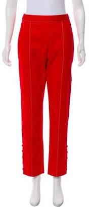 Rosie Assoulin High-Rise Straight-Leg Pants w/ Tags