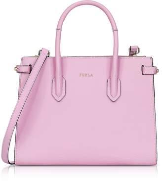 Furla Glicine Leather Pin Small E/W Tote Bag