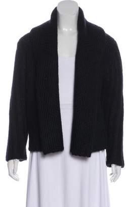 Haider Ackermann Long Sleeve Wool Cardigan Black Long Sleeve Wool Cardigan