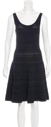 Ralph Lauren Black Label Scoop Neck Knit Dress