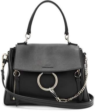 Chloé - Faye Day Leather Shoulder Bag - Womens - Black