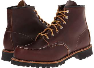 Red Wing Shoes 6 Moc Toe Lug Men's Lace-up Boots