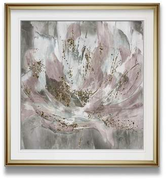 House of Hampton Blush Flower Power' Oil Painting Print