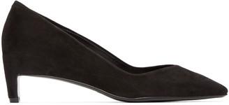 Robert Clergerie Black Aro Heels $550 thestylecure.com