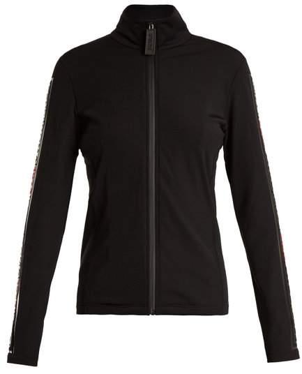 Zip-through performance jacket