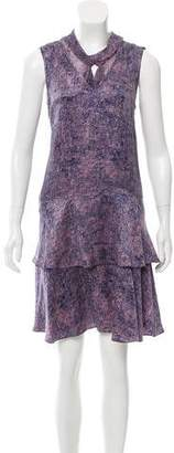Rebecca Taylor Silk Sleeveless Dress