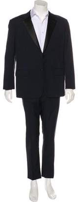 Prada Wool & Mohair Two-Button Tuxedo