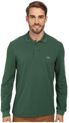 Lacoste Long Sleeve Classic Pique Polo Shirt Men's Long Sleeve Pullover