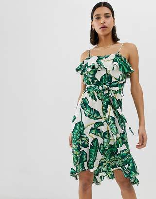 AX Paris tropical print sun dress