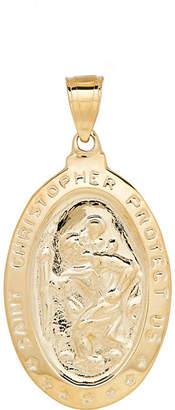 FINE JEWELRY 14K Gold St. Christopher Medallion Pendant