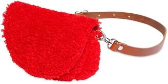 Il Gufo Faux Shearling Belt Pack