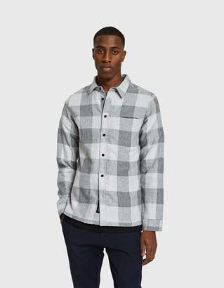 NATIVE YOUTH Brentwood Shirt in Grey