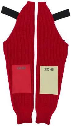 Raf Simons long gloves