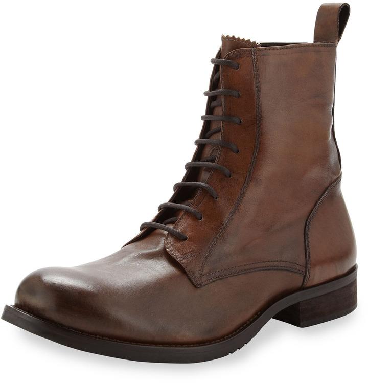True Religion Cliff Lace-Up Boot, Rust