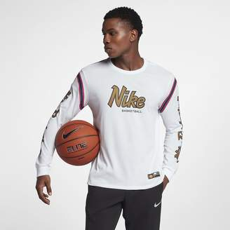 Nike Dri-FIT Men's Long Sleeve Basketball T-Shirt