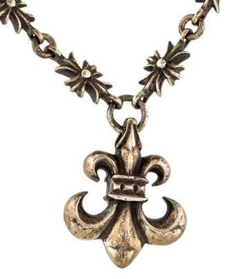 Chrome Hearts Fleur de Lis Pendant Necklace