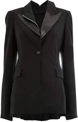Yang Li layered blazer