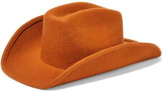 CLYDE Wool-felt Hat - Orange