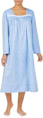 Eileen West Long Sleeve Nightgown