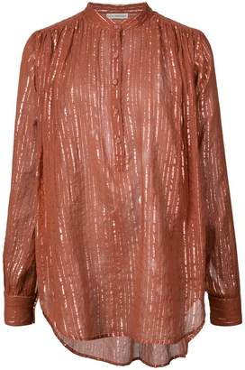 Ulla Johnson mandarin pullover blouse