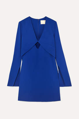 Dion Lee Tessellate Cutout Cady Mini Dress - Blue