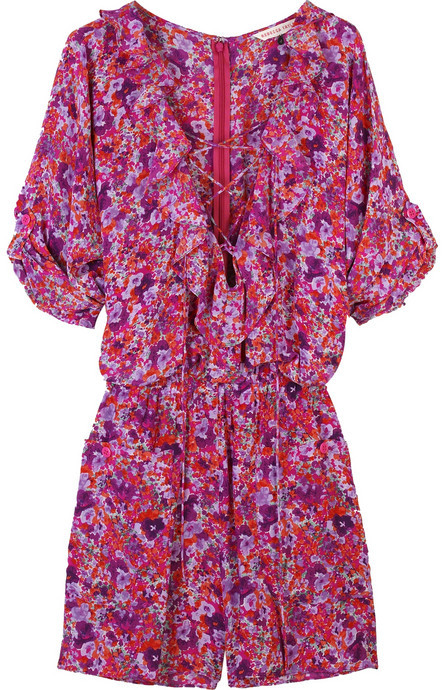 Rebecca Taylor Spring blossom playsuit