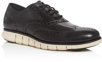 Cole Haan Men's ZeroGrand Leather Wingtip Oxfords
